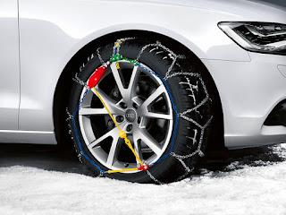 Comment adapter les chaînes de neige sur les pneus de voiture