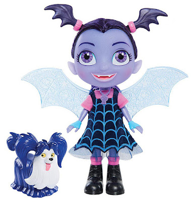 VAMPIRINA Muñeca Vampirina Parlanchina  Bat-Tastic Vampirina & Wolfie  Producto Oficial Disney Junior 2018 | Bandai 78040 | A partir de 3 años  COMPRAR ESTE JUGUETE