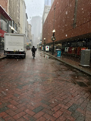 Downtown Crossing, Boston's version of Nicollet Mall