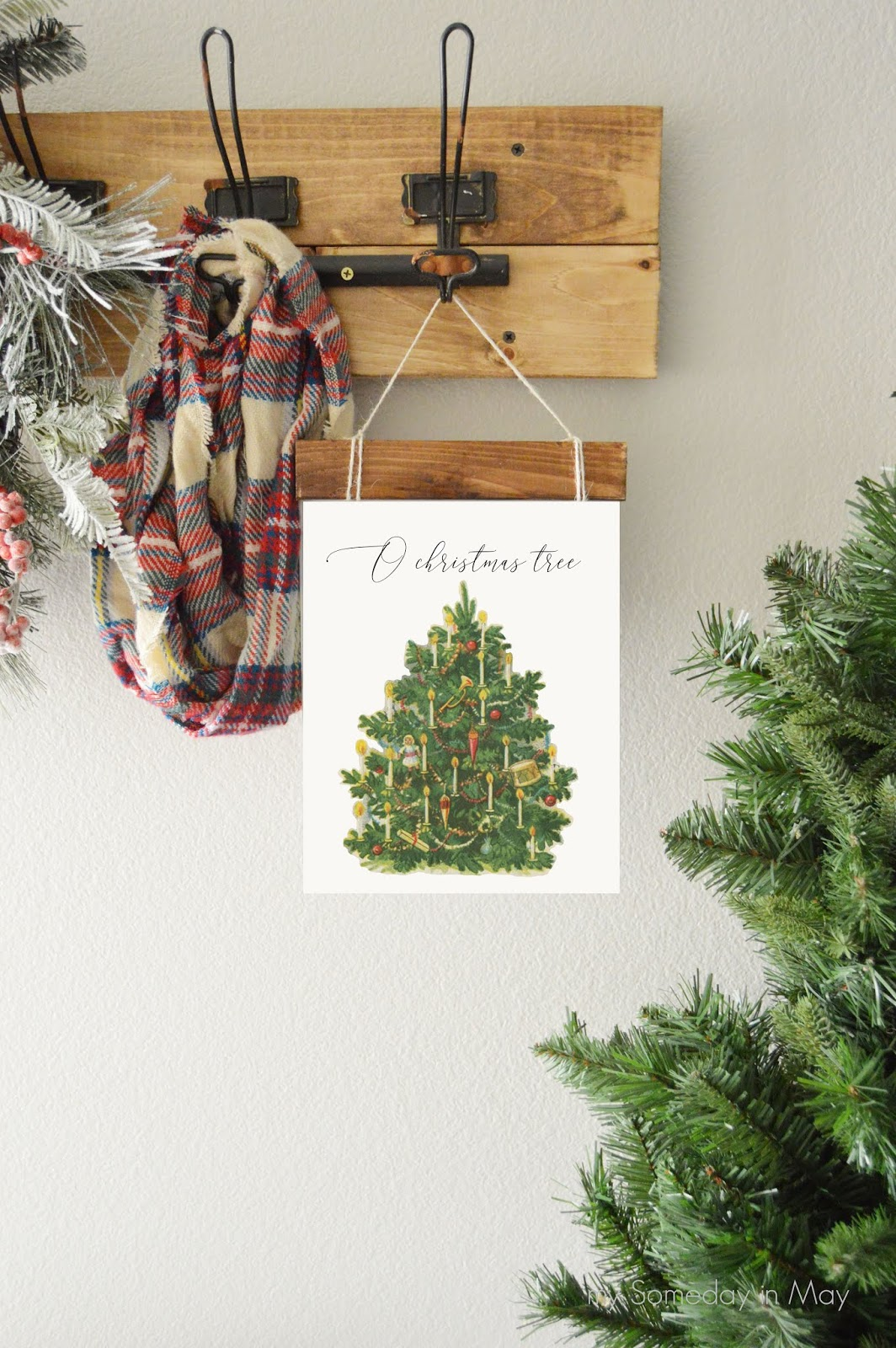 O Christmas Tree Print - My Someday in May