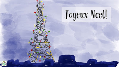 Joyeux Noël French E Card for Christmas