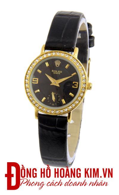 mẫu đồng hồ nữ đẹp dây da