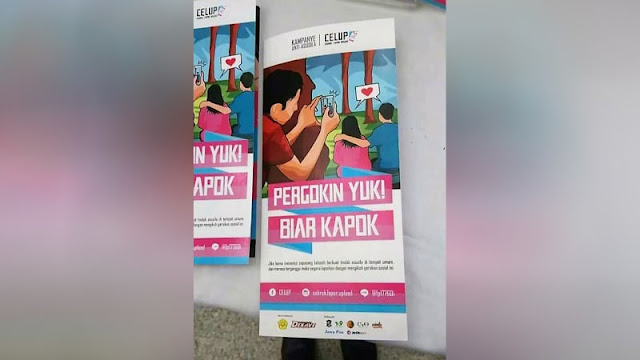 Heboh Kampanye Celup : Kampanye Sosial Antiasusila di Ruang Publik