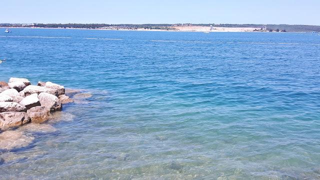 Kristallklares Wasser in Kroatien