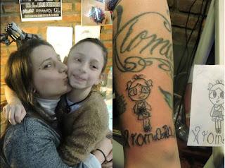 xiomara tatuaje para la madre