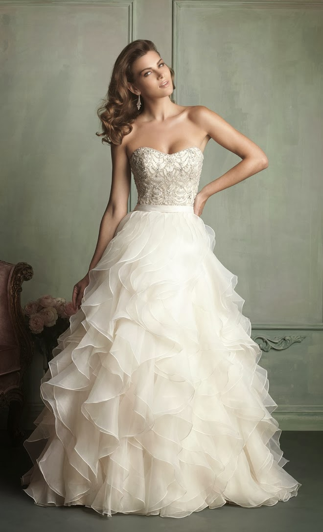 Best wedding dresses of 2013 belle the magazine and for their spring 2014 first 2 dresses and fall 2013 last 3 dresses collections well they brought us some of the prettiest styles of the year junglespirit Images