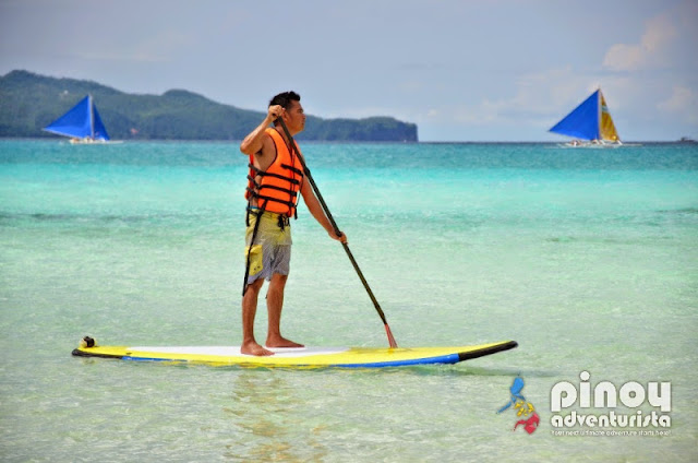 Paddle Boarding in Boracay
