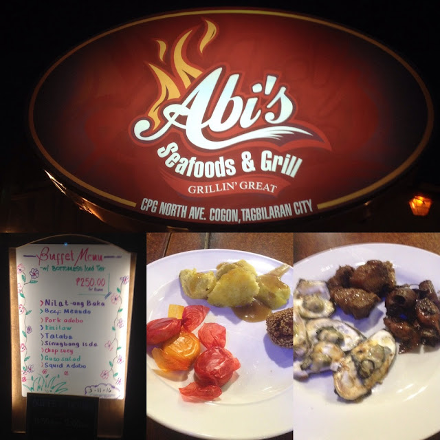 Abi's Seafood and Grill in Tagbilaran City Bohol Central Visayas Philippines