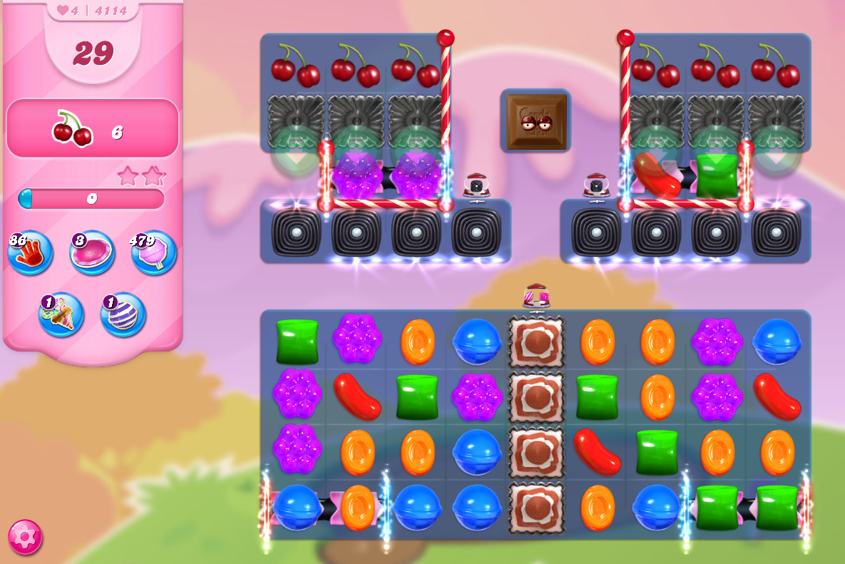 Candy Crush Saga level 4114