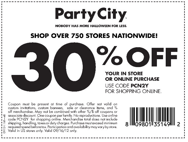Barbara's Beat: Save 30% off at Party City on Sunday