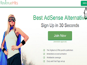 RevenueHitz Alternatif Iklan Google Adsense