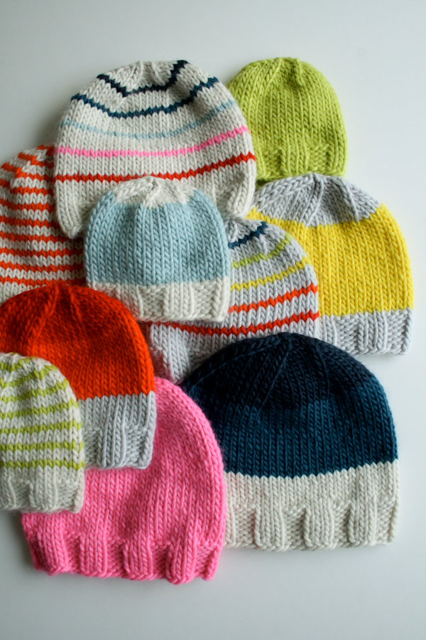 Free Knitting Pattern Gift Ideas : Knit Gift Ideas: 5 FREE Hat Knit Patterns For Beginners ...