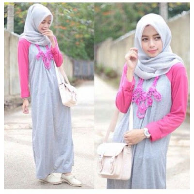 Model Kaos Terbaru Hijabers