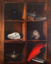 My Still Life Shelf Oil On Linen 2013