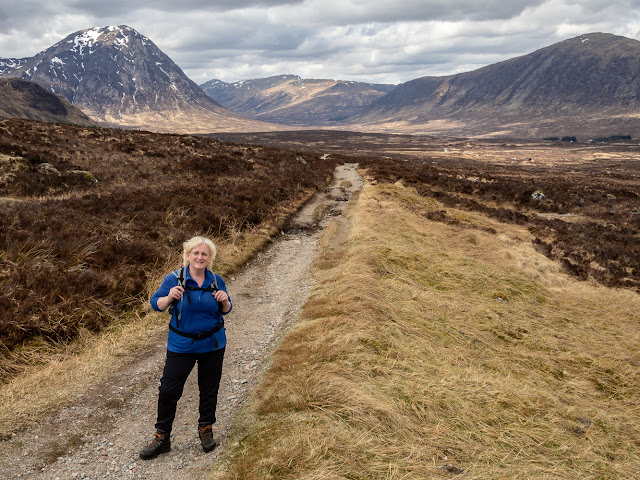 Photo of setting off along the West Highland Way in the sunshine