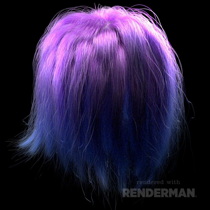 Paul Sheehy: XGen Hair RnD in Maya and Renderman with