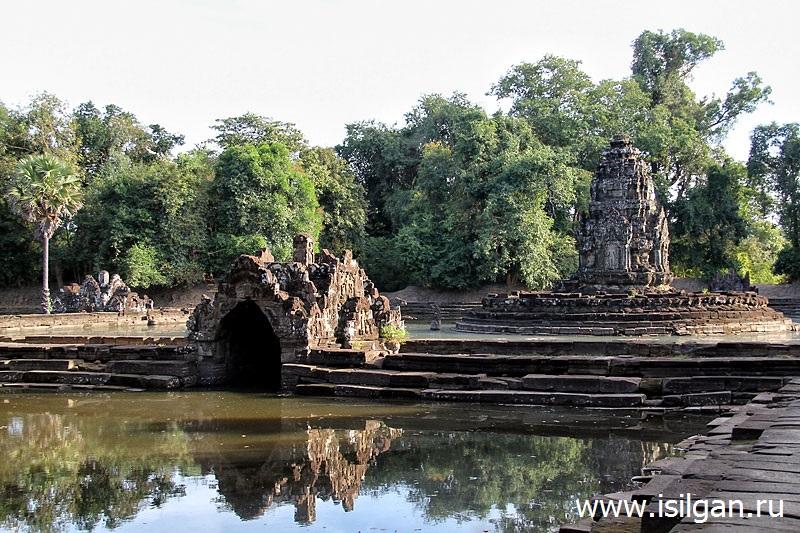 Прасат Неак Пеан (Neak Pean). Камбоджа