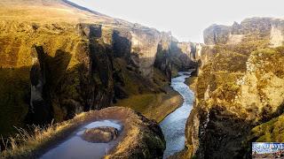 Islande : Le Canyon Fjaðrárgljúfur
