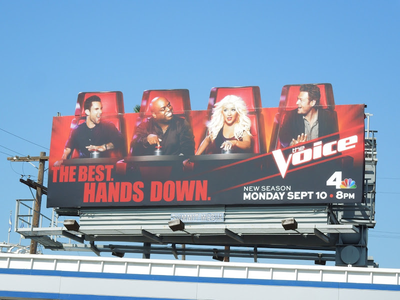 Voice season 3 special extension billboard