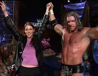 WWE / WWF Armageddon 1999 - Triple H and Stephanie McMahon join forces for the first time