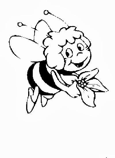malvorlagen kinder biene maja