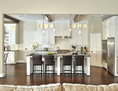Desain dapur dan ruang makan