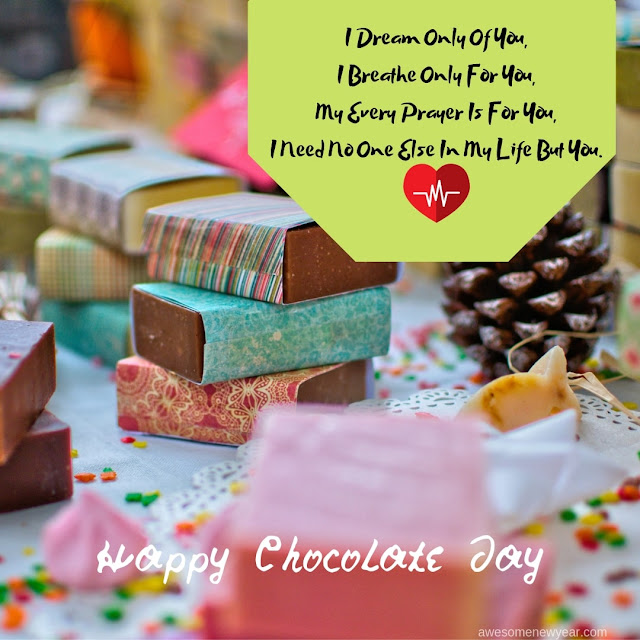 Happy Chocolate Day Wishes and Messages to send your Girlfriend