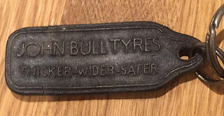 The Bxhill Motor Co Ltd - John Bull Tyres keyring back