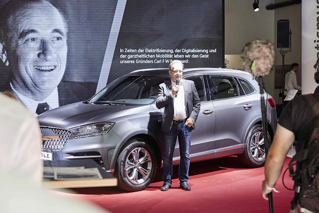Borgward successfully debuts in German market with launch of new BX7 TS Limited model