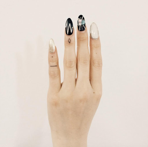 Esses pequenos dedo, tatuagens