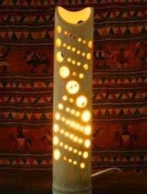 Membuat Kerajinan Tangan Cara Membuat Lampu Taman Dari Bambu