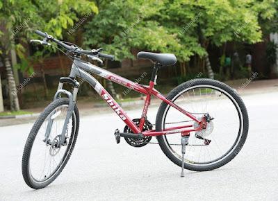 Review xe đạp thể thao nam Shika