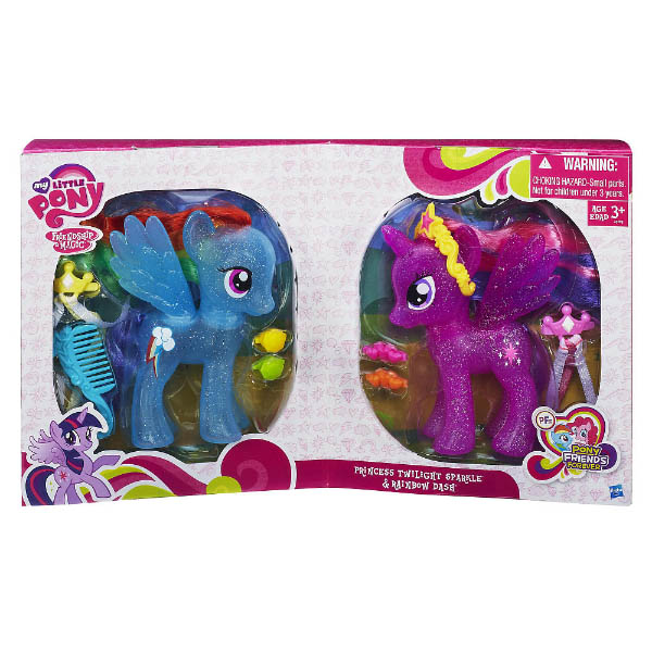 Mlp Fashion Style 2 Pack Brushables Mlp Merch
