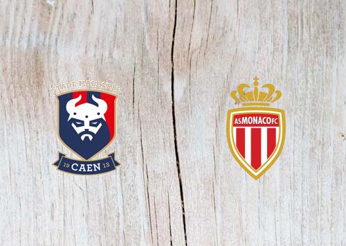 Caen vs Monaco - Highlights 24 November 2018