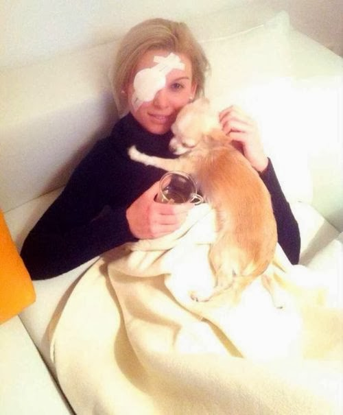 Bachelor Katja: first photo after the operation