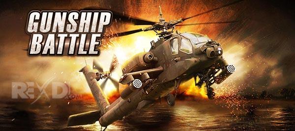 تحميل GUNSHIP BATTLE Helicopter 3D مهكرة رصيد لانهائي