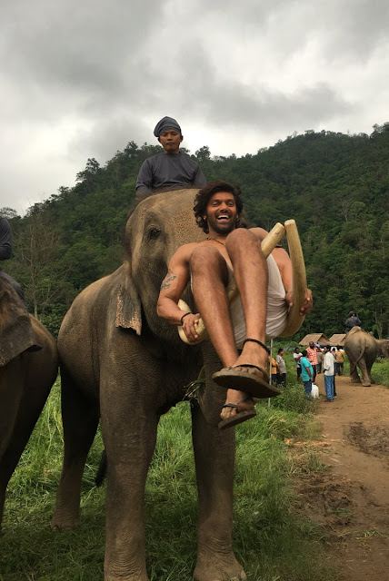Kadamban tamil movie working stills