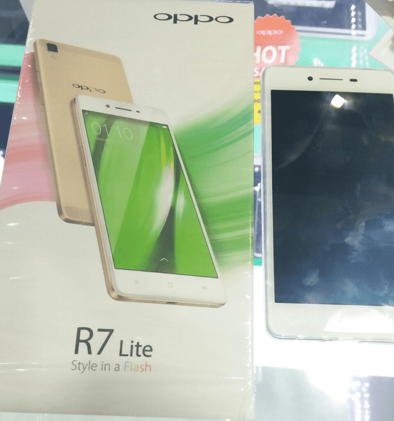 OPPO R7 LITE LEAKED! 2.5D SCREEN AND FULL METAL BODY PRICED AT 13,990 PESOS!