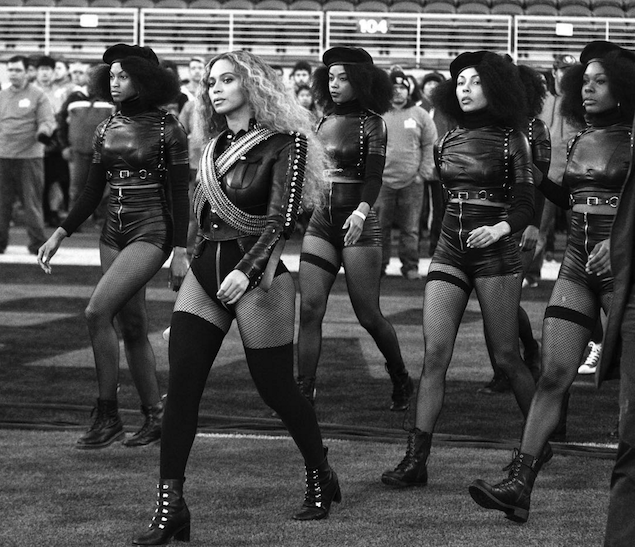 beyonce formation super bowl performance