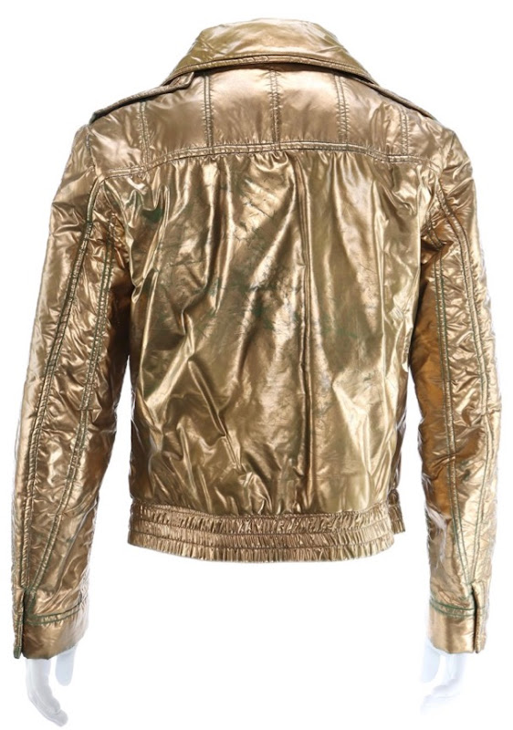 Buck Rogers 25th Century gold jacket back