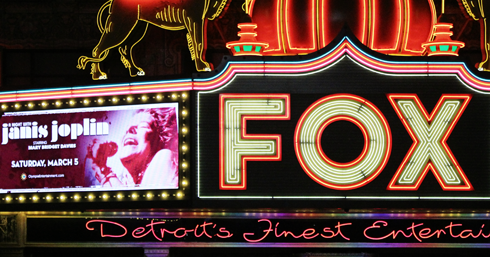 downtown detroit michigan fox theatre