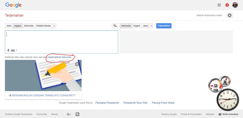 Cara translate Dokumen bahasa inggris ke indonesia menggunakan google translate  HERYSEPTY