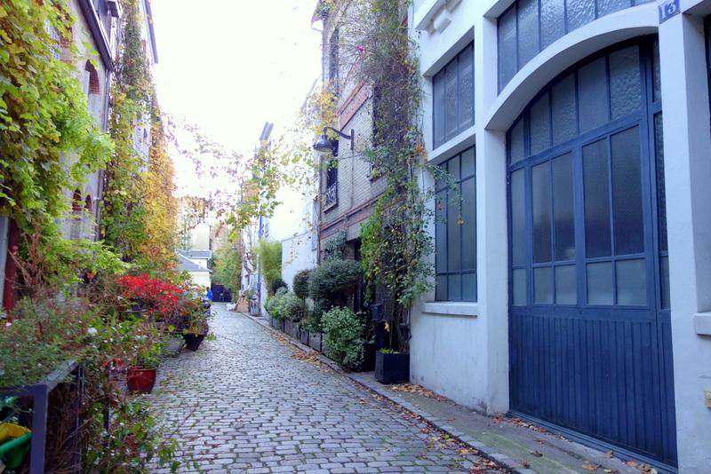 Paris La Villa Santos Dumont En Automne Xv Me Paris