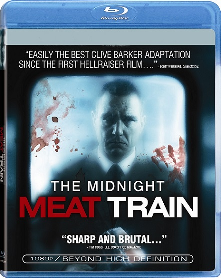 The Midnight Meat Train (El vagón de la muerte) (2008) 720p y 1080p BDRip mkv Dual Audio AC3 5.1 ch