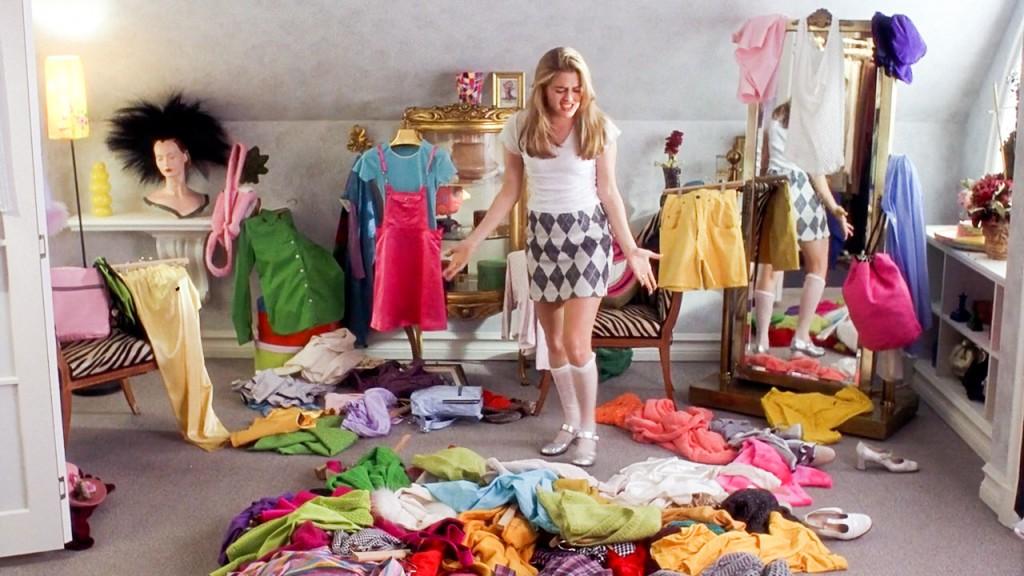 Destralhar as roupas - 1 ano de destralhe