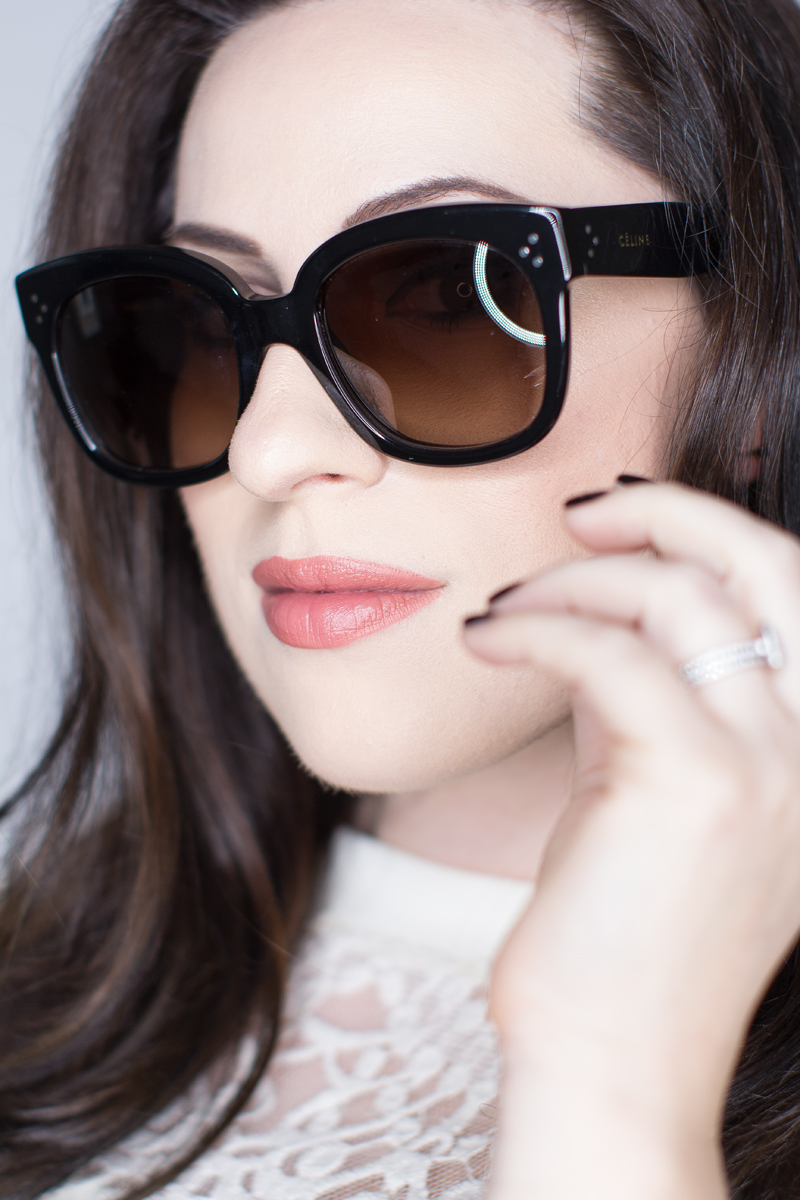 celine new audrey sunglasses, nars velvet matte lip pencil