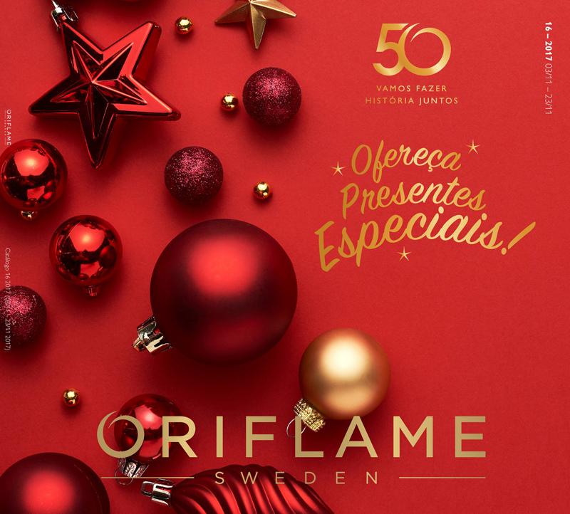 Catálogo 16 de 2017 da Oriflame
