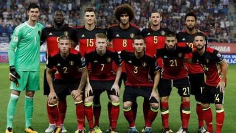 Timnas Belgia Piala Dunia 2018