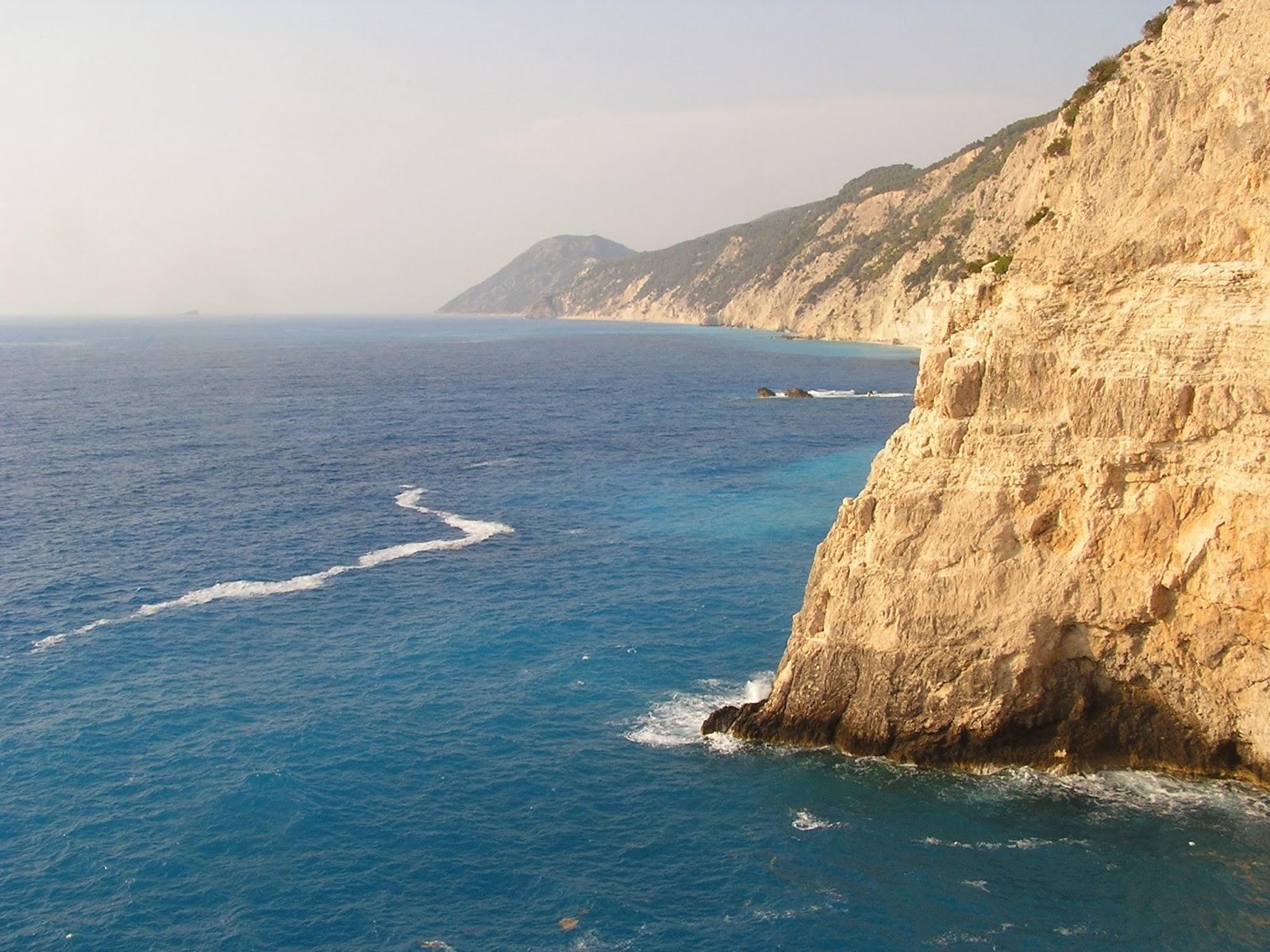 Moře na ostrově Lefkáda