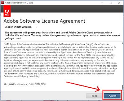 Cara Instal Adobe Premie Pro CC 2015 Full + Crak
